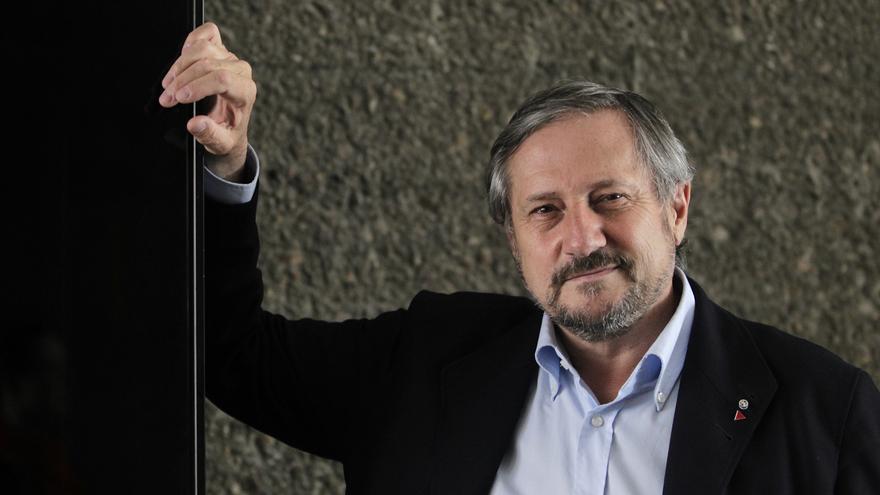 Willy Meyer, cabeza de lista de La Izquierda Plural. / Marta Jara