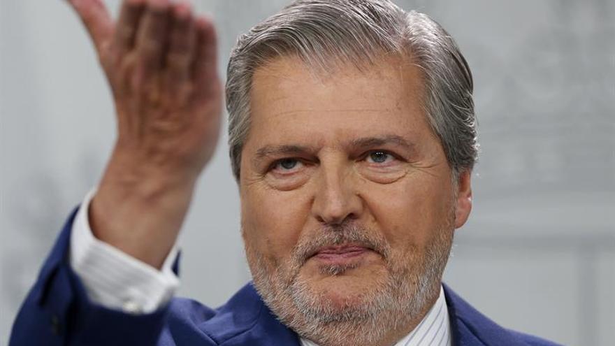 El portavoz del Gobierno, Íñigo Méndez de Vigo.