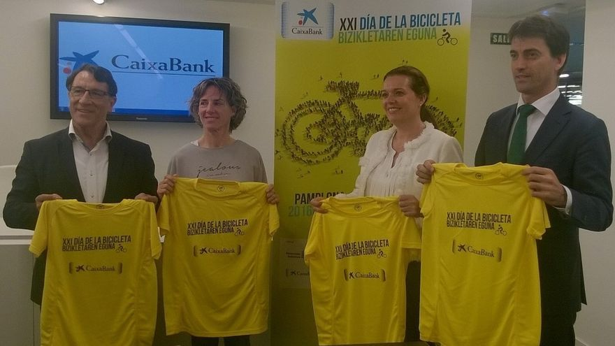 El XXI Día de la Bicicleta de Pamplona se celebrará el 12 de junio