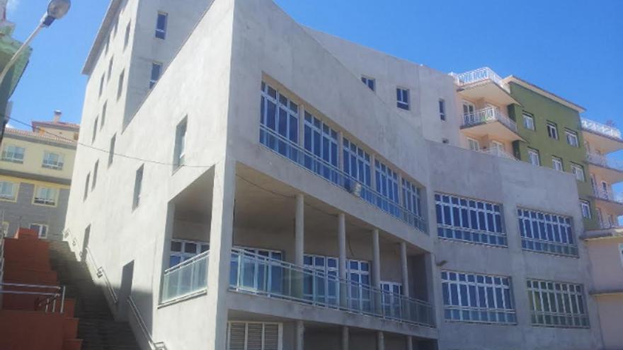 En la imagen, futuro Centro de Día para Mayores  de San Andrés y Sauces.