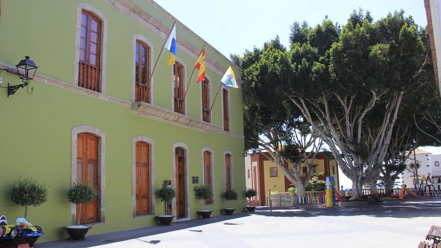 Sede de las casas consistoriales de Guía de Isora, en el sur de Tenerife