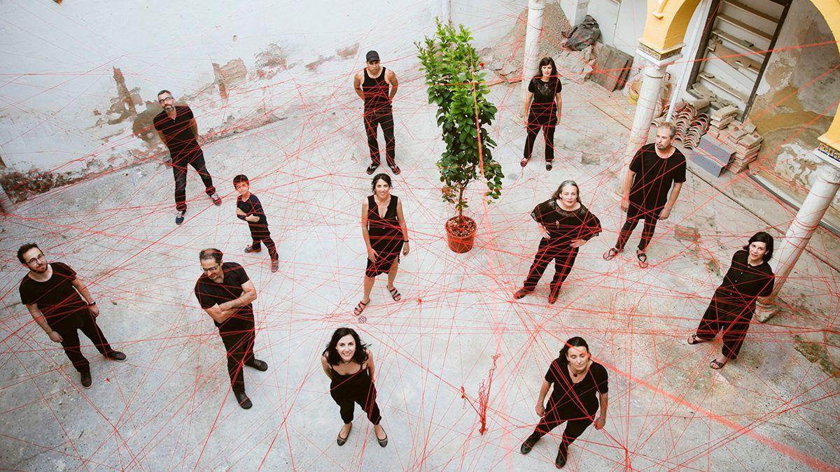 Integrantes del proyecto PAX Patios de la Axerquía.