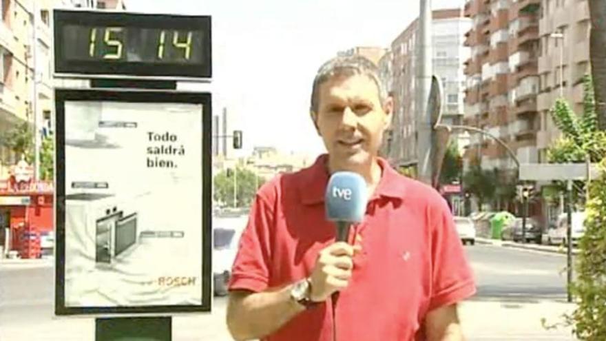 Juan de Dios Martínez, director del Centro Territorial de TVE en Murcia.
