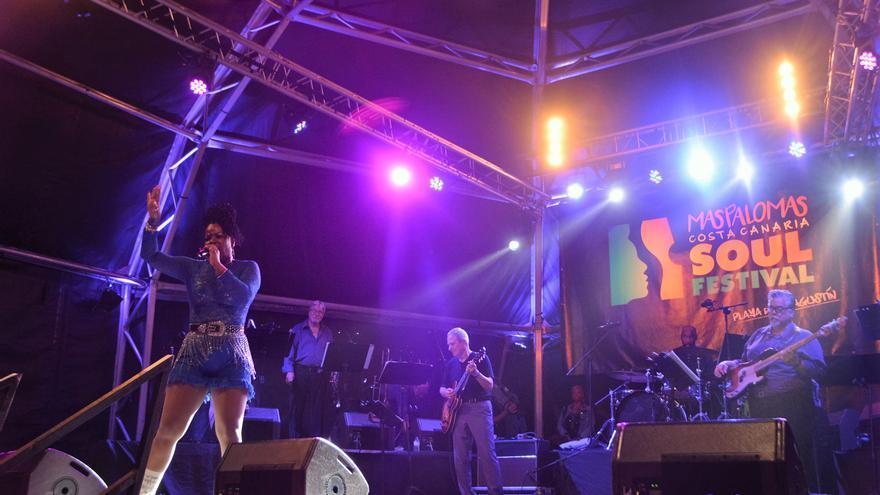 Primera noche del Maspalomas Costa Canaria Soul Festival (Canarias Ahora)