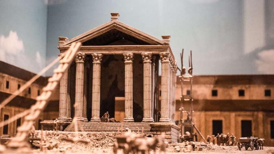 Templo Diana recreación