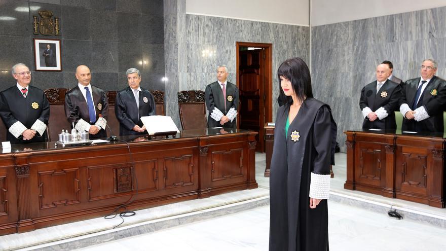 Toma de posesión en el TSJC de Eva María Hernández Burgos.