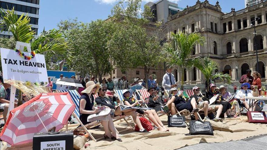 Protestas este fin de semana contra la desigualdad y la pobreza, antes de la cumbre del G20 en Australia. / Efe