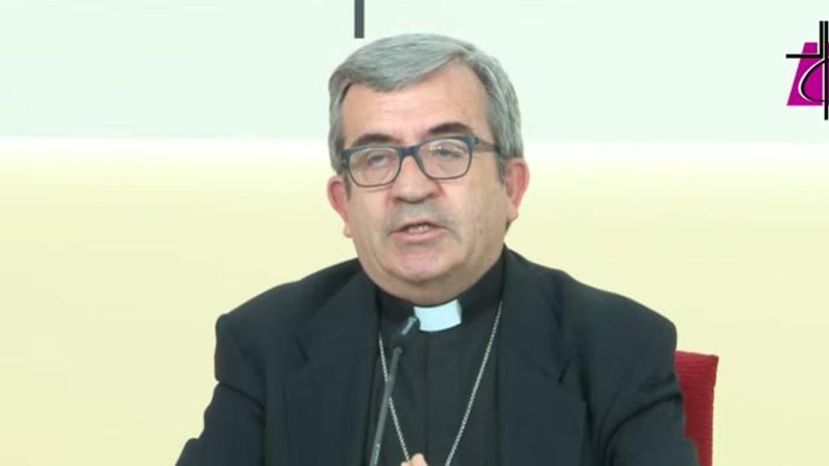 El portavoz de la CEE, Luis Argüello