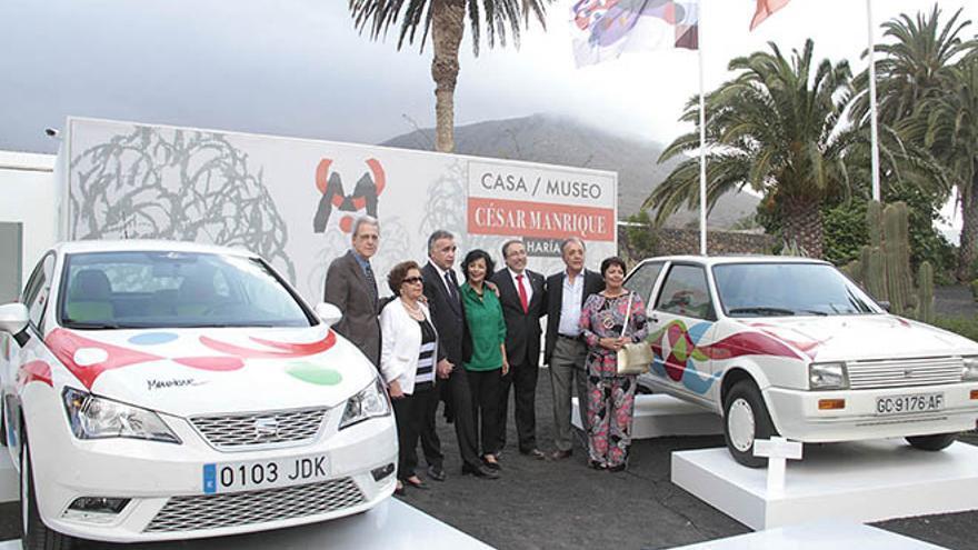Presentación del Seat Ibiza diseñado por César Manrique (DE LA CRUZ)