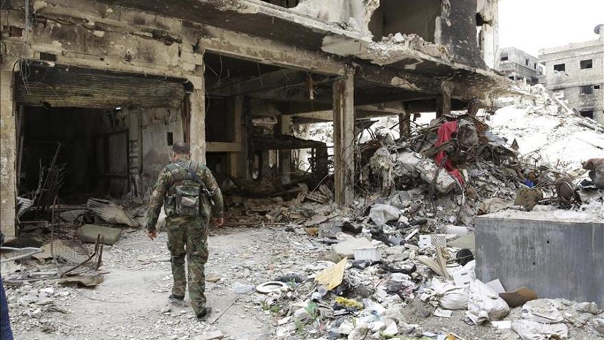 El Ejército sirio envía refuerzos para repeler el ataque del EI contra Palmira