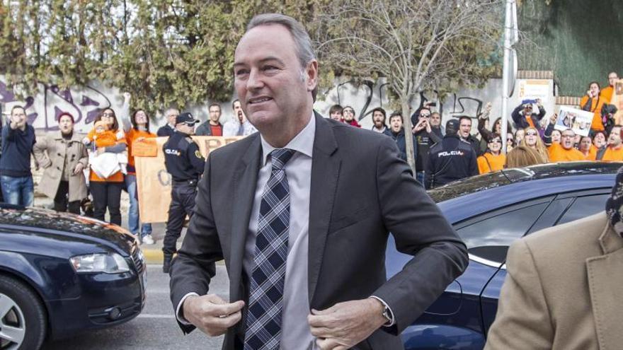 Multa de 150 euros a Fabra al no pagar la Generalitat unas costas procesales