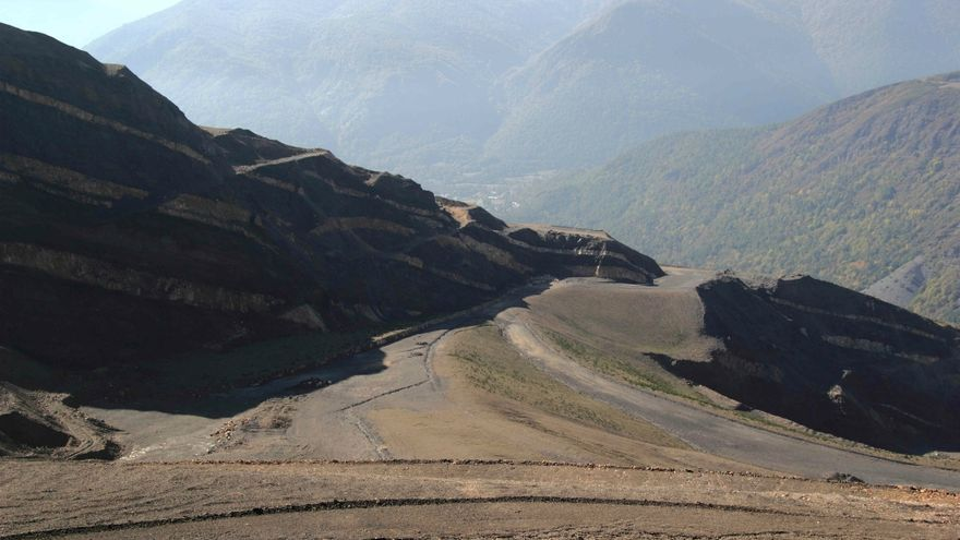 Explotación minera de Victorino Alonso en Laciana (León), denominada 'El Feixolín'