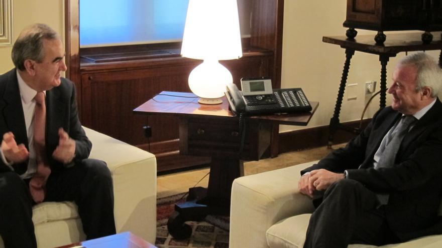 Valcárcel y PSOE acuerdan defender de forma conjunta los intereses de la Región de Murcia en Europa