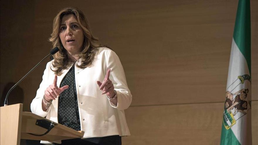 """La presidenta de Andalucía dice que """"ni el terror, ni el miedo van a vencer"""""""