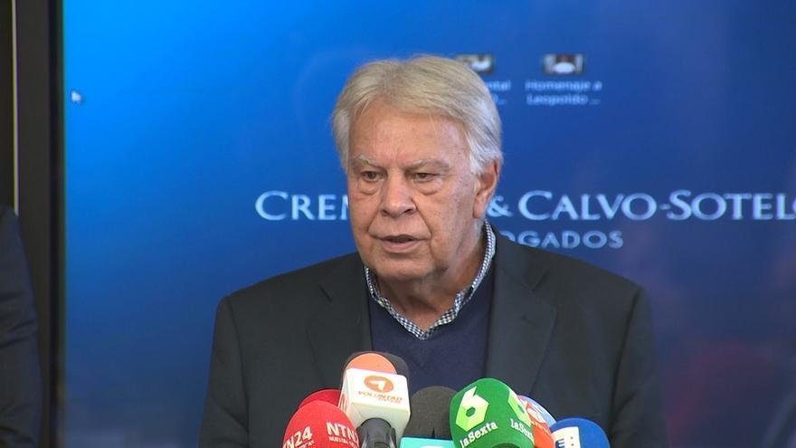 Felipe González ve prevaricación en la condena a Leopoldo López y dice que ayudará a nivel internacional en su defensa