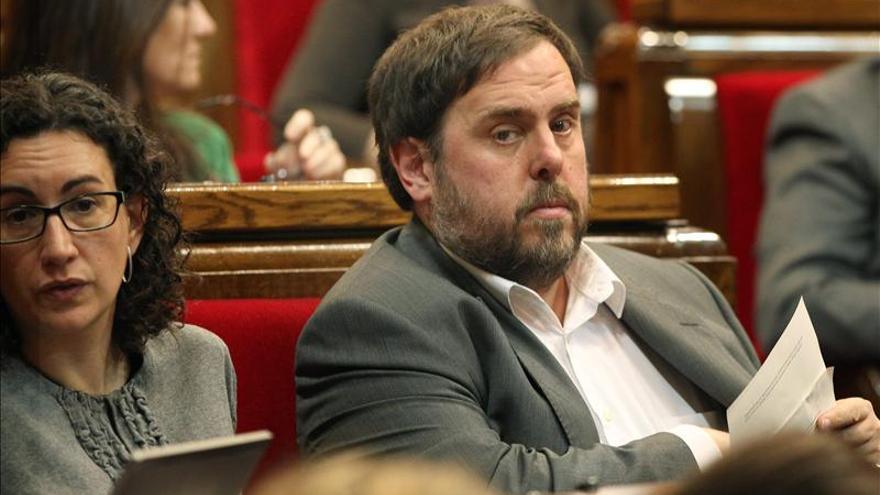 """Junqueras pide entrar en el Govern para """"blindar"""" la consulta"""