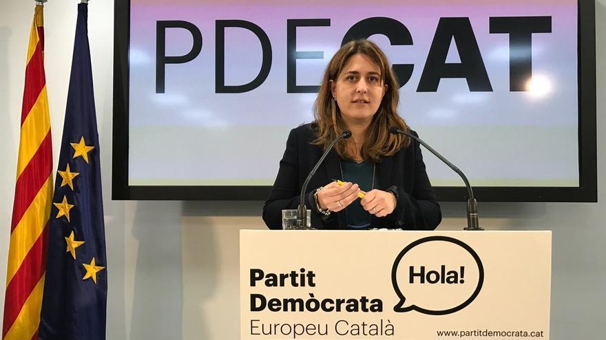 """El PDECAT celebra que la CUP salga de su """"zona de confort ideológico"""" en los Presupuestos"""