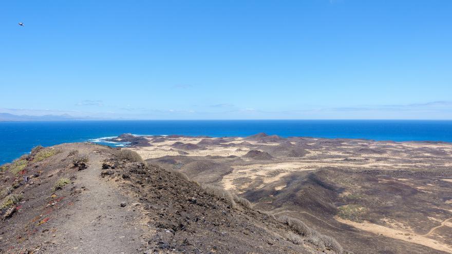 Vista desde el volcán de La Calera. Sebastian Köttinger (CC)