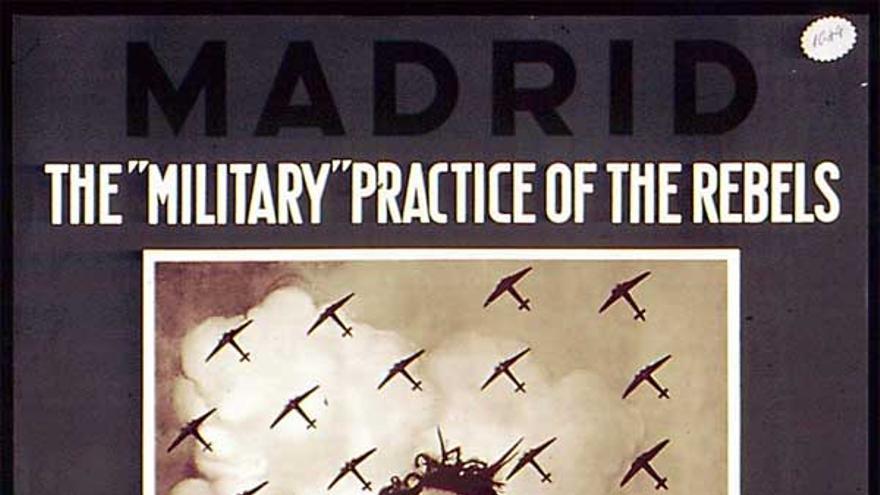 Cartel del Ministerio de Propaganda republicano.