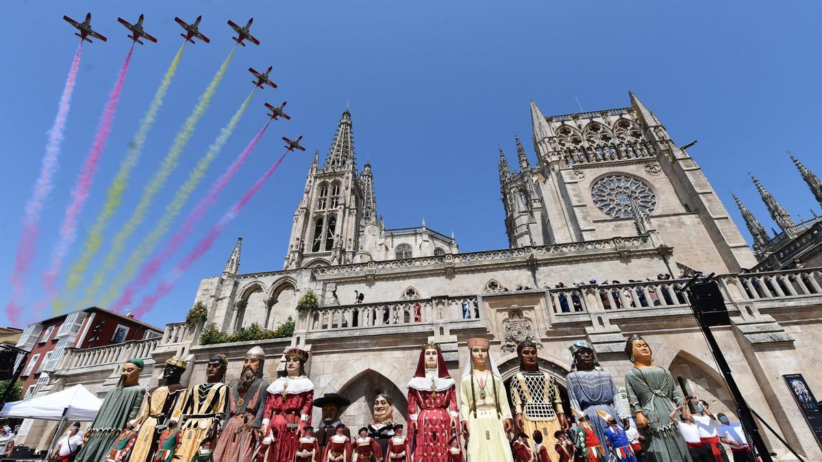 Celebración del VIII Centenario de la Catedral de Burgos