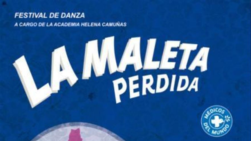 Cartel del acto solidario de Médicos del Mundo en el Teatro de Rojas