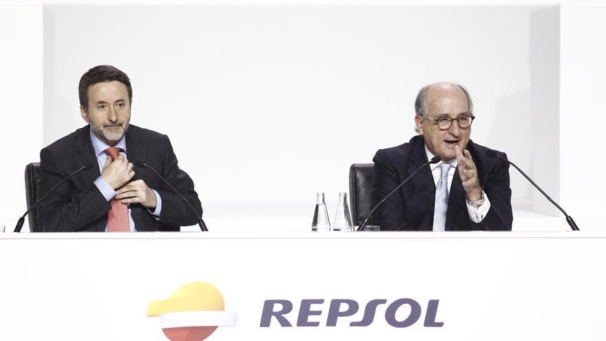 Brufau abre la puerta a volver a subir el dividendo si se recupera el precio del petróleo