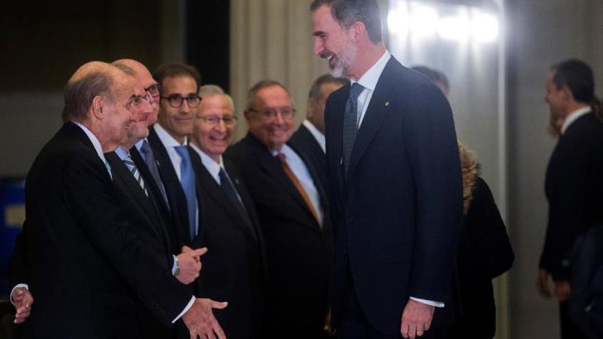 """El Rey asegura que España es reconocida mundialmente como una """"plena democracia"""""""