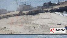 Cuatro niños palestinos eliminados en el ataque de un buque de guerra israelí