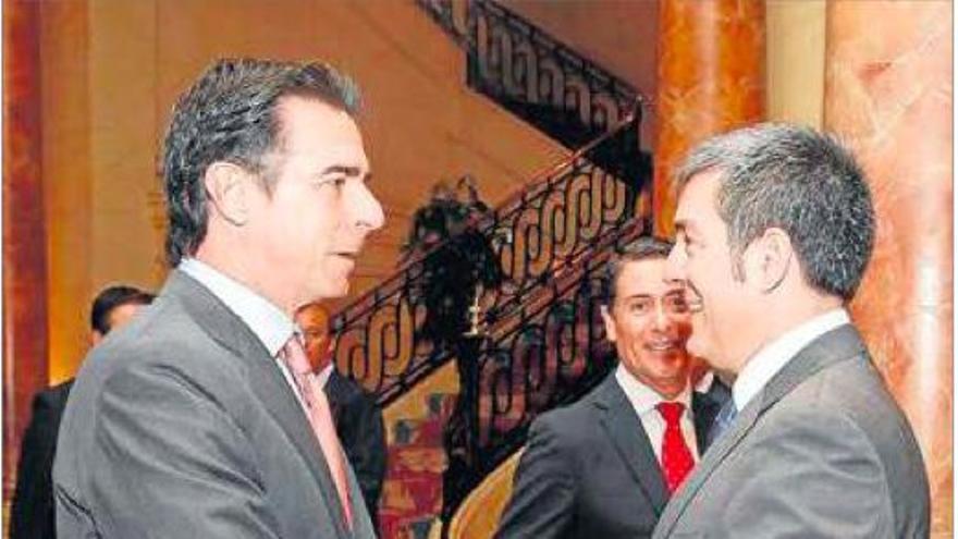 José Manuel Soria y Fernando Clavijo