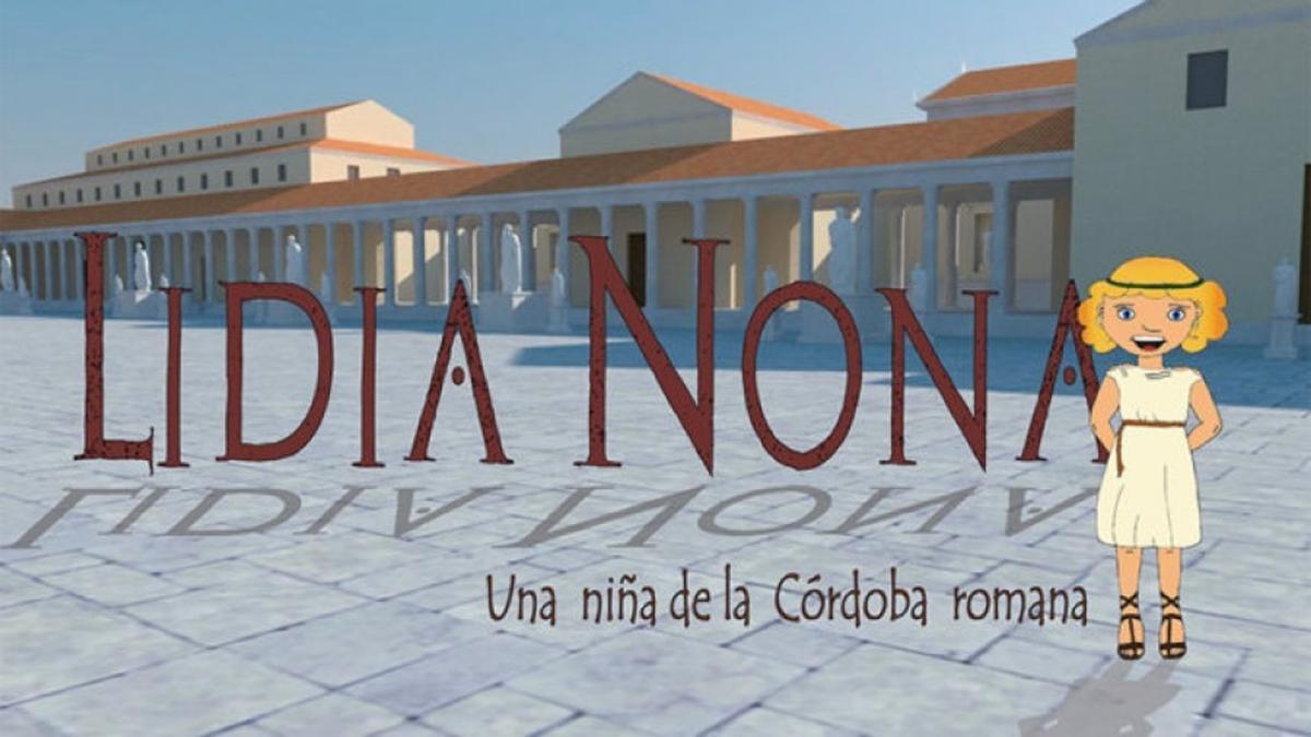 Portada del ebook del Grupo Sísifo de la UCO, 'Lidia Nona, una niña de la Córdoba romana'.