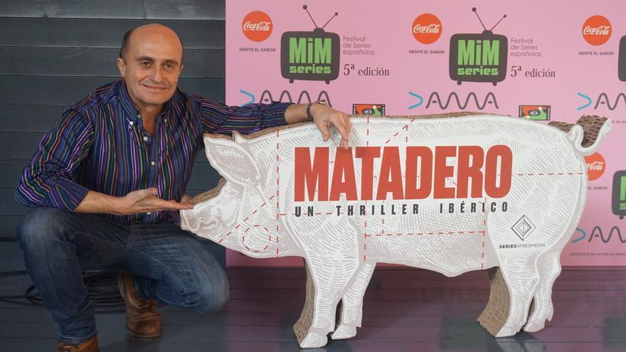 Pepe Viyuela en la presentación de 'Matadero'
