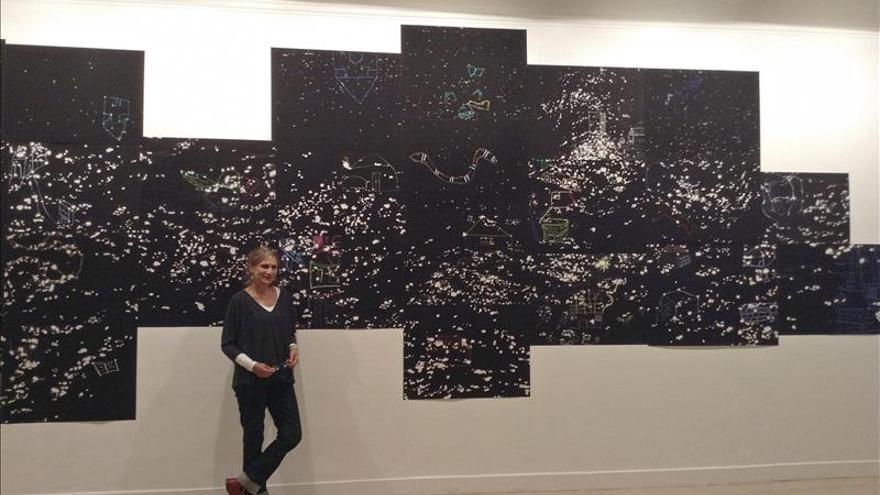 Dos artistas colombianas denuncian en Roma el desplazamiento humano