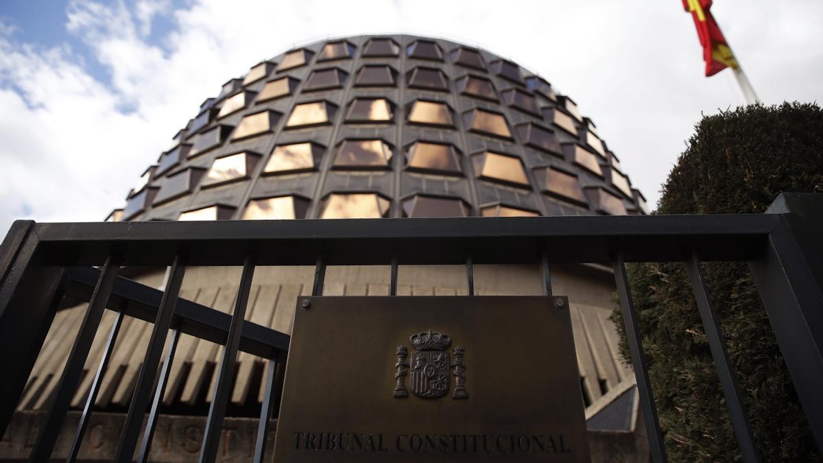 Sede del Tribunal Constitucional en Madrid en una imagen de archivo.