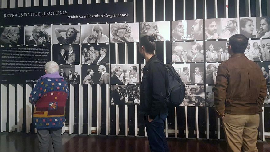 Uno de los actos conmemorativos celebrados en Valencia