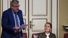 El secretario de Organización del PSOE de Canarias, Jorge González