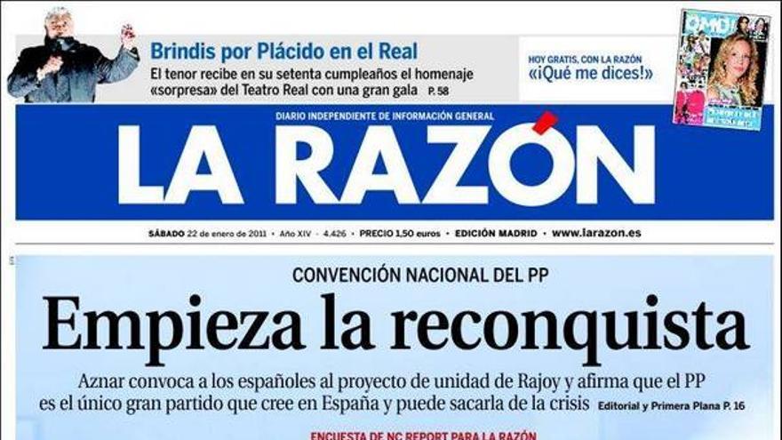De las portadas del día (22/01/2011) #10