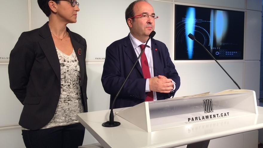 """Iceta ve """"difícil"""" un pacto JxSí-CUP y dice que el Parlament no puede legislar sin Gobierno"""
