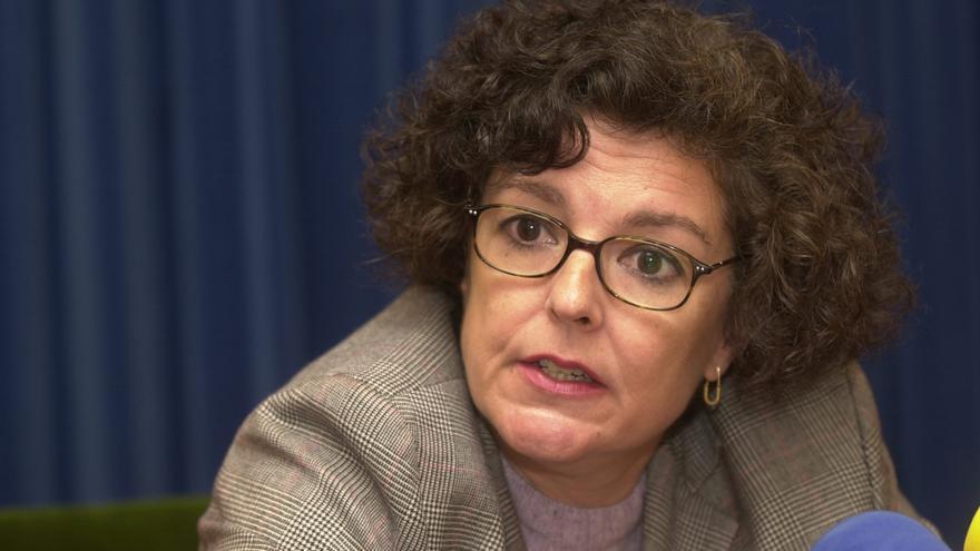 La exministra Ángeles Amador, en 2001. EFE