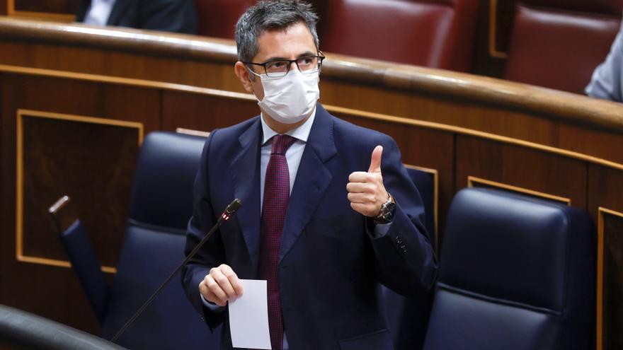 Bolaños critica que Cs rechace negociar los PGE y le pide volver al centro útil