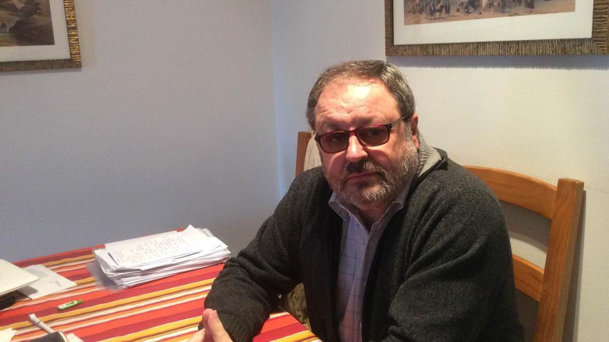 Javier Barbero, psicólogo en el Hospital de La Paz.
