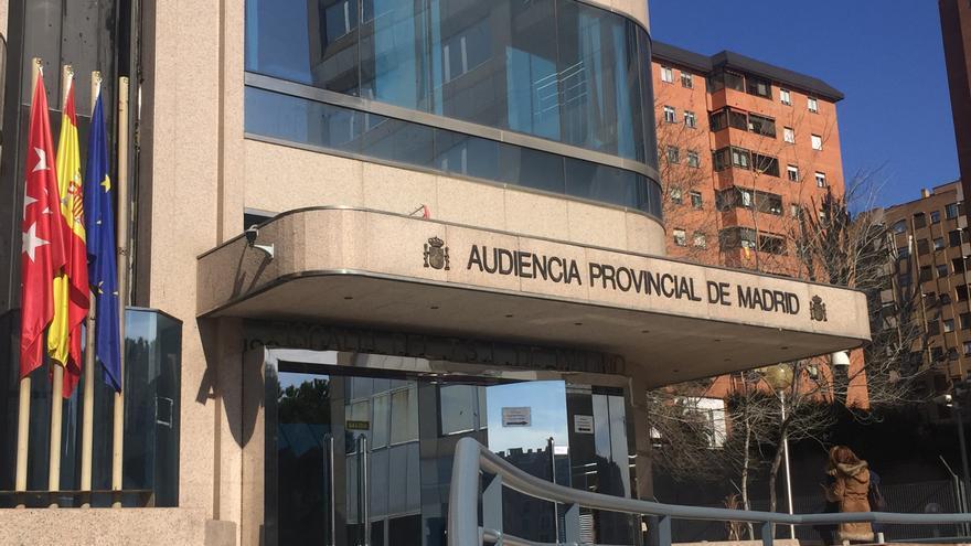 La Audiencia Provincial de Madrid, donde iba a celebrarse el juicio / MB