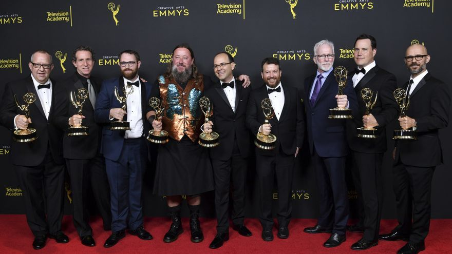 Juego de tronos domina en los Premios Emmy Creativos 2019  con 10 galardones, seguida de Chernobyl con 7