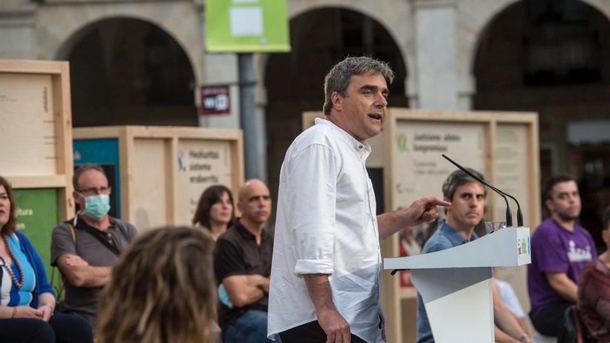 Mikel Otero, en el arranque de la campaña