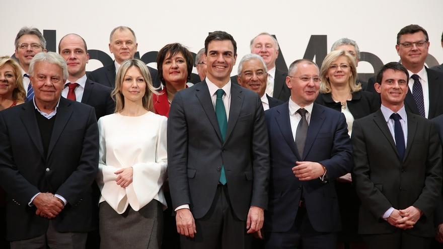 """Sánchez avisa que la solución a la crisis griega no vendrá de """"impulsos nacionalistas"""" y pide """"más Europa"""""""