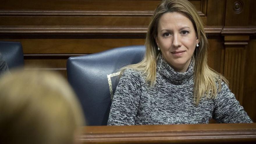La consejera de Hacienda del Gobierno de Canarias, Rosa Dávila. (Manuel Lérida)