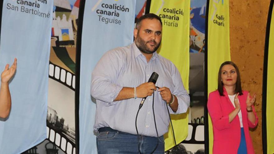 Samuel Martín, candidato de CC al Senado por Lanzarote