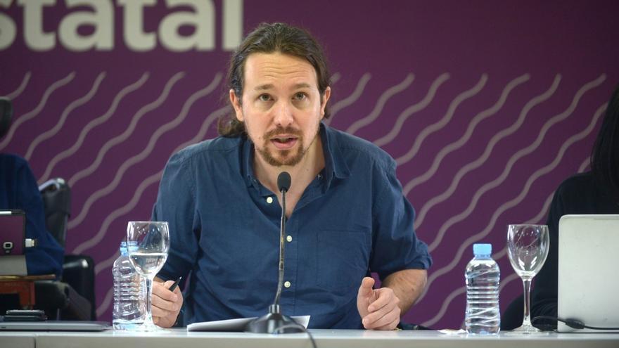 """Pablo Iglesias da por terminado el """"momento de pánico e incertidumbre"""" en Cataluña"""