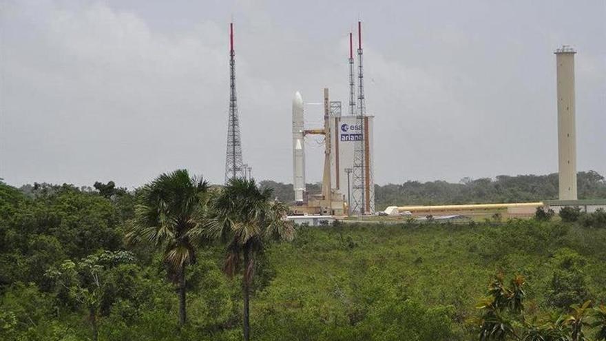 Ariane reanuda el 4 de mayo sus lanzamientos desde la Guayana con 2 satélites
