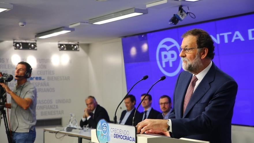 """Rajoy pide al PSOE que negocie la financiación autonómica porque el PP """"ni puede ni quiere"""" aprobarla en solitario"""