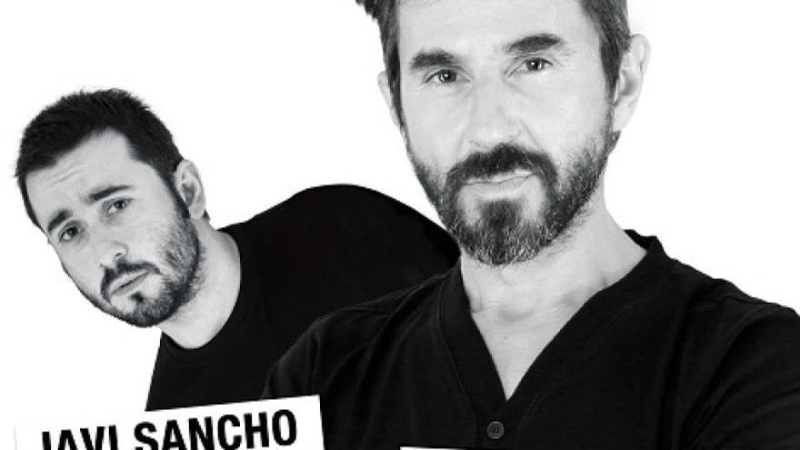 La pareja cómica, Santi Millán y Javi Sancho.